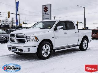 Used 2015 RAM 1500 Big Horn Crew Cab 4x4 ~8-Speed ~Nav ~Backup Camera for sale in Barrie, ON