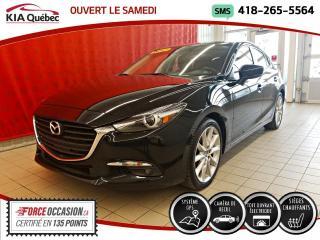 Used 2017 Mazda MAZDA3 Sport GT* GPS* TOIT* CAMERA* HITCH* for sale in Québec, QC