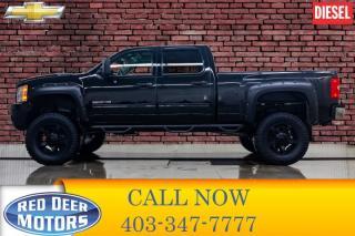 Used 2014 Chevrolet Silverado 2500 HD 4x4 Crew Cab LT Diesel Lift Wheels for sale in Red Deer, AB