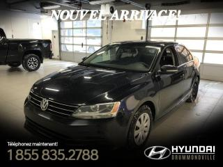 Used 2016 Volkswagen Jetta TRENDLINE PLUS + TOIT + MAGS + CAMERA + for sale in Drummondville, QC