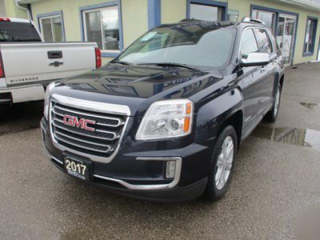 2017 GMC Terrain ALL-WHEEL DRIVE SLT EDITION 5 PASSENGER 3.6L - V6.. LEATHER.. HEATED SEATS.. POWER SUNROOF.. BACK-UP CAMERA.. BLUETOOTH.. PIONEER AUDIO..