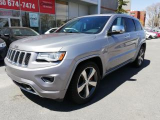 Used 2015 Jeep Grand Cherokee * OVERLAND**DIESEL**NAV**CAM.RECUL**CUIR * for sale in Longueuil, QC