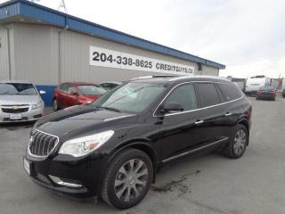 Used 2017 Buick Enclave Leather Bluetooth, Rear Camera for sale in Saint Paul, MB