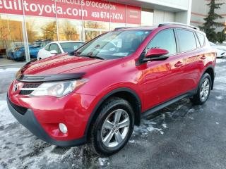 Used 2015 Toyota RAV4 XLE * SIÈGES CHAUFFANTS TOIT OUVRANT BI-ZONE * for sale in Longueuil, QC