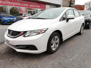 Used 2015 Honda Civic LX * SIÈGES CHAUFFANTS ** BAS KILOMÉTRAGE * for sale in Longueuil, QC