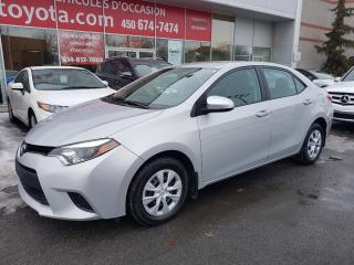 Used 2016 Toyota Corolla CE * A/C BLUETOOTH GROUPE ÉLECTRIQUE * for sale in Longueuil, QC