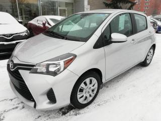 Used 2017 Toyota Yaris LE * BLUETOOTH AIR CLIMATISÉ GROUPE ÉLECTRIQUE * for sale in Longueuil, QC