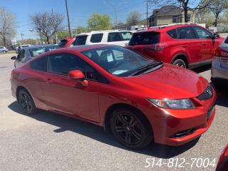 Used 2013 Honda Civic Coupe Si * CAMÉRA DE RECUL**NAVIGATION * for sale in Longueuil, QC