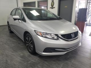 Used 2015 Honda Civic EX - CAM RECUL, TOIT for sale in Châteauguay, QC