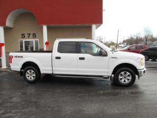 Used 2016 Ford F-150 XLT Crew Cab 4X4 for sale in Lévis, QC