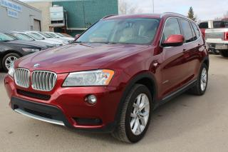 Used 2013 BMW X3 xDrive28i CLEARANCE LUXURY AWD for sale in Regina, SK