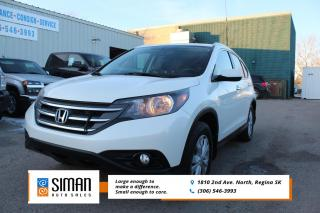 Used 2014 Honda CR-V Touring SALE PRICED LEATHER SUNROOF AWD for sale in Regina, SK