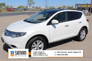 Used 2014 Nissan Murano SL CLEARANCE PRICED for sale in Regina, SK