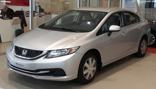 Used 2014 Honda Civic LX 4 portes CVT for sale in Beauport, QC