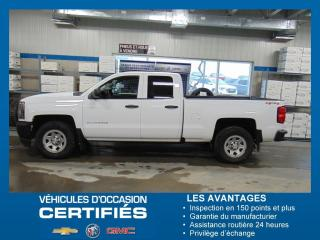 Used 2017 Chevrolet Silverado 1500 4WD Double Cab v8 for sale in Amos, QC