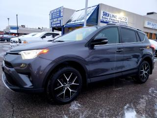 Used 2016 Toyota RAV4 SE NAVIGATION LEATHER AWD SUNROOF NO ACCIDENT CERTIFIED for sale in Concord, ON