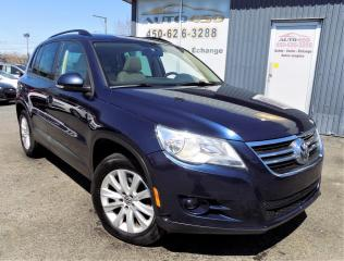 Used 2011 Volkswagen Tiguan **CONFORTLINE,4MOTION,CUIR,TOIT PANO** for sale in Longueuil, QC