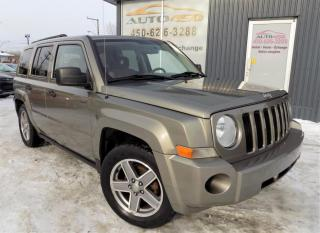 Used 2008 Jeep Patriot ***SPORT,BAS KILO,MAGS,A/C,4 CYL*** for sale in Longueuil, QC