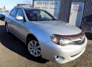 Used 2010 Subaru Impreza ***AWD,2.5i,AUTOMATIQUE,GROUPES ELEC*** for sale in Longueuil, QC