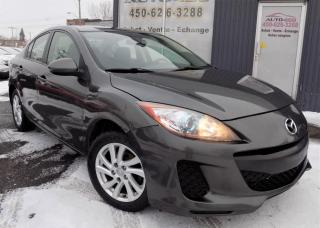 Used 2012 Mazda MAZDA3 **GS-SKY,AUTO,TOIT,BLUETOOTH,PNEUS D'HIV for sale in Longueuil, QC