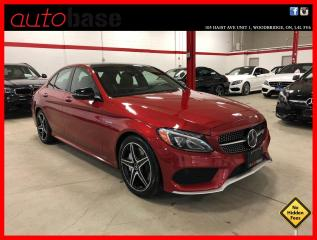 Used 2017 Mercedes-Benz C-Class C43 AMG 4MATIC DISTRONIC PREMIUM 360 CAM LED for sale in Vaughan, ON