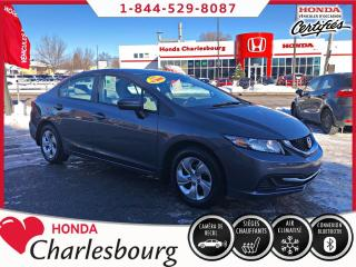 Used 2015 Honda Civic LX AUTOMATIQUE*UN PROPRIÉTAIRE* for sale in Charlesbourg, QC