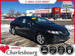 Used 2015 Honda Civic LX**UN PROPRIÉTAIRE**AUCUN ACCIDENT** for sale in Charlesbourg, QC