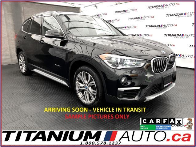 2016 BMW X1 M-PGK+GPS+Camera+HUD+Lane Assist+Pano Roof+xDrive+