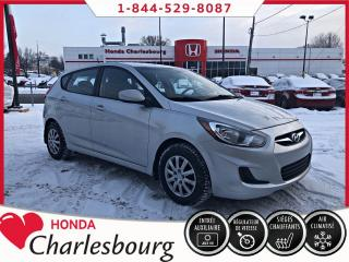 Used 2013 Hyundai Accent GL 5 PORTES**78 764KM** for sale in Charlesbourg, QC