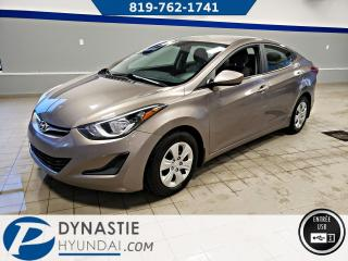 Used 2015 Hyundai Elantra L for sale in Rouyn-Noranda, QC