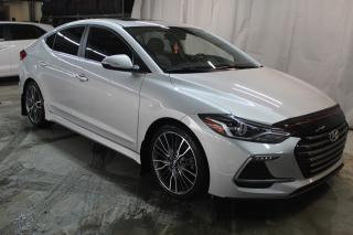 Used 2017 Hyundai Elantra SPORT (TURBO,TOIT,BAS KILO !!) for sale in St-Constant, QC