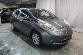 Used 2017 Nissan Leaf S (BAS KILO 40400KM) CHARGE RAPIDE !! for sale in St-Constant, QC