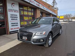 Used 2016 Audi Q5 KOMFORT LINE, AWD, ONTARIO VEHICLE ,CLEAN CARPROOF for sale in Burlington, ON