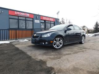 Used 2012 Chevrolet Cruze LTZ Turbo|LEATHER|SUNROOF|BLUETOOTH for sale in St. Thomas, ON