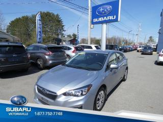 Used 2019 Subaru Impreza 2.0i **Commodité** 5 portes for sale in Victoriaville, QC