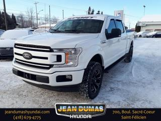 Used 2018 Ford F-150 XL SuperCrew 4RM caisse de 6.5, 5L V8 for sale in St-Félicien, QC