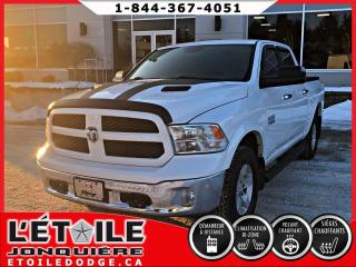 Used 2016 RAM 1500 OUTDOORSMAN CREWCAB V6 4X4, DEMARREUR A for sale in Jonquière, QC