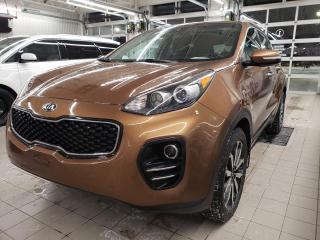 Used 2018 Kia Sportage *EX*CUIR*CAMÉRA*AWD* for sale in Québec, QC