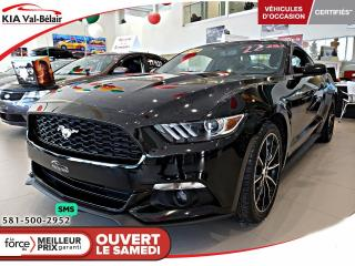 Used 2016 Ford Mustang *2.3L*ECOBOOST*CAMÉRA*CRUISE* for sale in Québec, QC