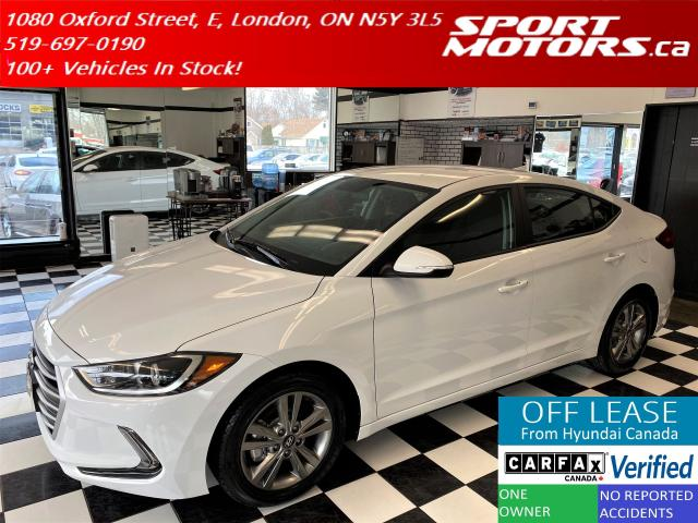 2017 Hyundai Elantra GL+Apple Play+A/C+Camera+New Tires+Accident Free