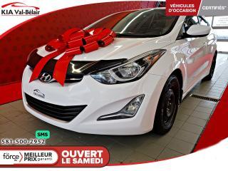 Used 2016 Hyundai Elantra *GLS*TOIT*CAMÉRA*SIÈGES CHAUFF** for sale in Québec, QC