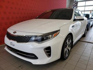 Used 2016 Kia Optima *SXL*CAMÉRA* TOIT *CUIR*AIR*CRUISE* for sale in Québec, QC