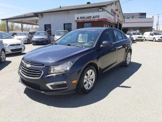 Used 2016 Chevrolet Cruze Berline 4 portes LT avec 1LT for sale in Sherbrooke, QC