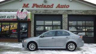 Used 2015 Mitsubishi Lancer Berline 4 portes CVT SE traction avant for sale in Sherbrooke, QC