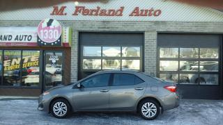 Used 2017 Toyota Corolla LE berline 4 portes CVT for sale in Sherbrooke, QC