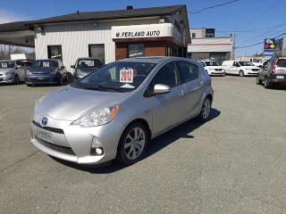 Used 2012 Toyota Prius c Hayon 5 portes Technologie for sale in Sherbrooke, QC