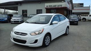 Used 2016 Hyundai Accent Berline 4 portes, boîte automatique, GL for sale in Sherbrooke, QC
