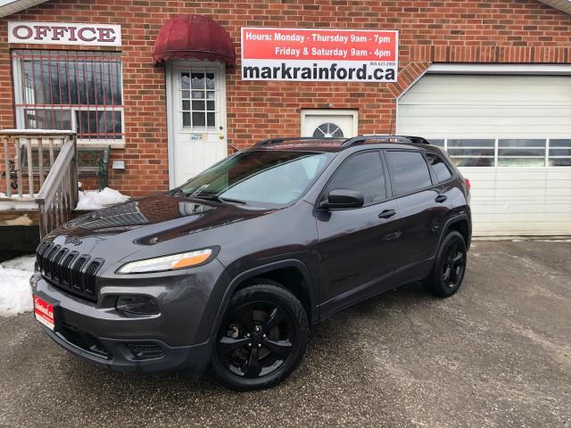 2016 Jeep Cherokee Altitude 4x4 Rm Start Heated Seats, Steering Wheel