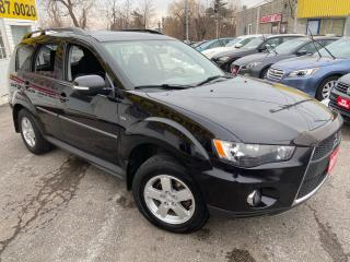 Used 2011 Mitsubishi Outlander 7 SEATER/ AWD/ PWR GROUP/ ALLOYS/ TINTED! for sale in Scarborough, ON