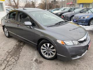 Used 2011 Honda Civic EX-L/ AUTO/ LEATHER/ SUNROOF/ ALLOYS/ LIKE NEW! for sale in Scarborough, ON